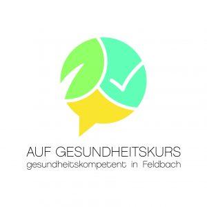 Logo: Auf Gesundheitskurs - gesundheitskompetent in Feldbach © FH JOANNEUM