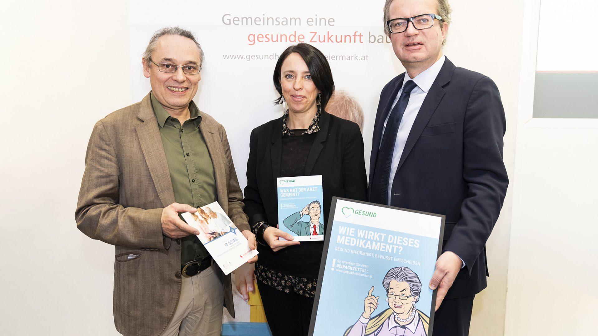 gesund informiert © Gesundheitsfonds Steiermark/Jesse
