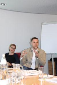 Christina Dietscher (BMASGK) und Stefan Spitzbart (HVB)