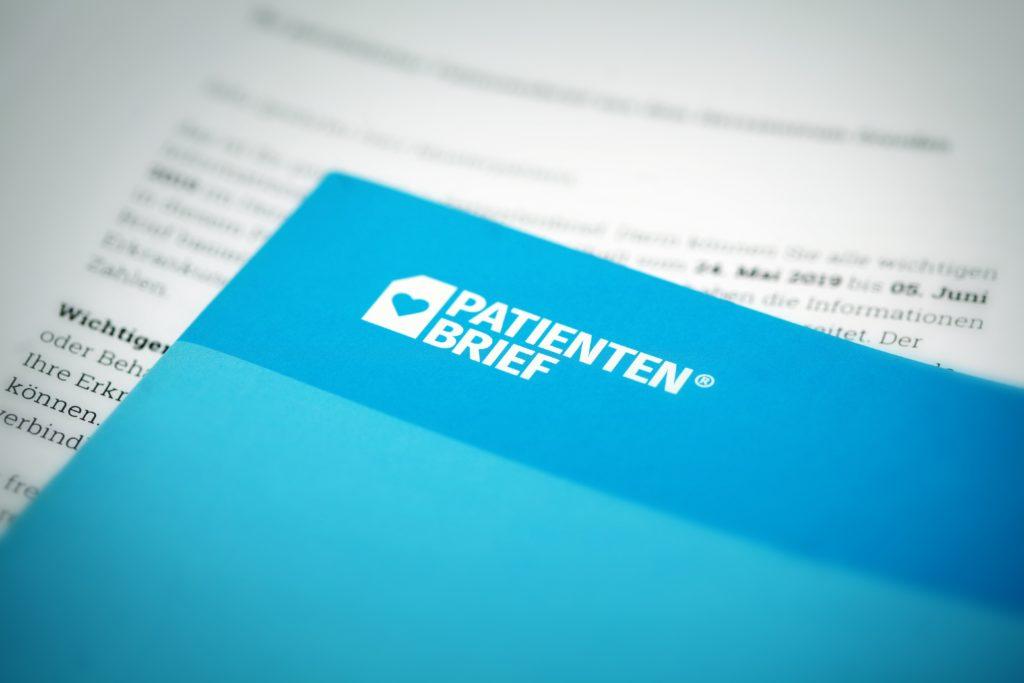 Presse Bild Was habe ich:? zeigt Patienten Brief